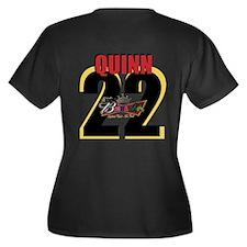 Unique Borracho Women's Plus Size V-Neck Dark T-Shirt