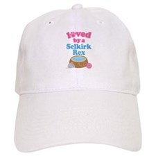 Loved By A Selkirk Rex Baseball Cap