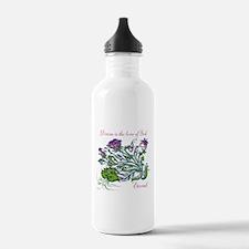 TheEulogyWeb: Divine design #6 Water Bottle