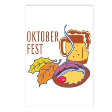 Oktober Fest Postcards (Package of 8)