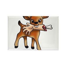 killer bambi Rectangle Magnet