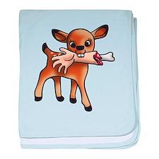 killer bambi baby blanket