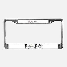 Bomber License Plate Frame