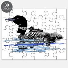 loon with babies Puzzle