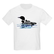 loon with babies T-Shirt