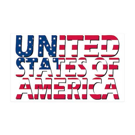 USA 35x21 Wall Decal