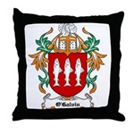 O'Galvin Coat of Arms Throw Pillow