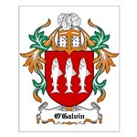 O'Galvin Coat of Arms Small Poster