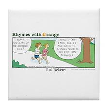 Triathmom Tile Coaster