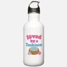 Loved By A Tonkinese Water Bottle