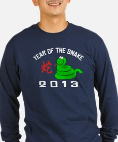 Funny Year of The Snake 2013 T