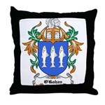 O'Gahan Coat of Arms Throw Pillow