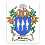 O'Gahan Coat of Arms Small Poster
