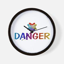 DANGER Membername Wall Clock
