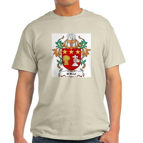 O'Friel Coat of Arms Ash Grey T-Shirt