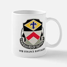 DUI - 9th Finance Battalion with Text Mug
