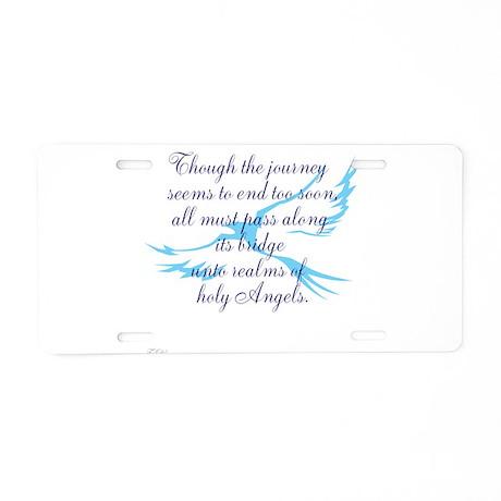 TheEulogyWeb: Holy design #7 Aluminum License Plat