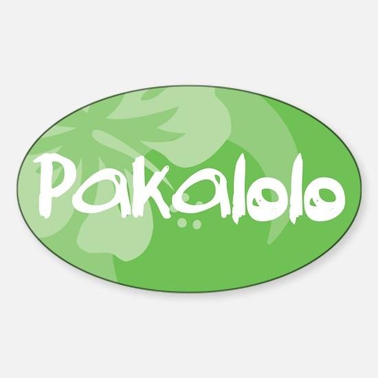 Pakalolo Sticker (Oval)