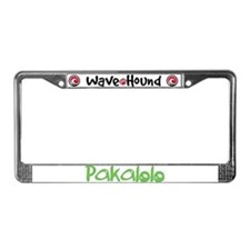 Pakalolo License Plate Frame