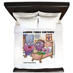 Grape Exectations King Duvet
