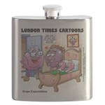 Grape Exectations Flask