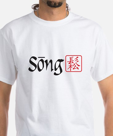 Song Relax White T-Shirt