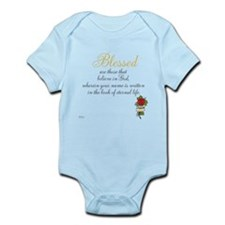 TheEulogyWeb: Blessed design #8 Infant Bodysuit