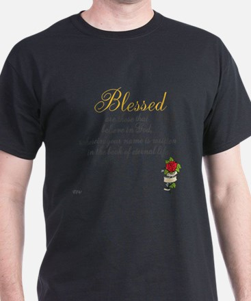 TheEulogyWeb: Blessed design #8 T-Shirt