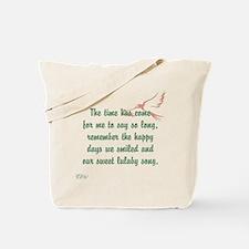 TheEulogyWeb: Lulaby Song design #2 Tote Bag
