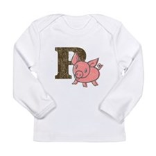 P is for Pig Long Sleeve T-Shirt
