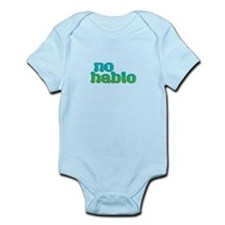 No Hablo Blue Body Suit