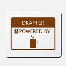 Drafter Powered by Coffee Mousepad