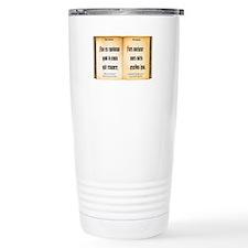 Necronomicon Travel Mug