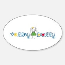 Volley Dolly Oval Decal