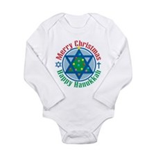 Unique Jewish Long Sleeve Infant Bodysuit
