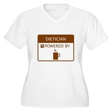 Dietician Powered by Coffee T-Shirt
