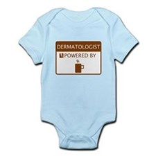 Dermatologist Powered by Coffee Infant Bodysuit