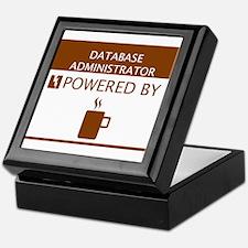 Database Administrator Powered by Coffee Keepsake