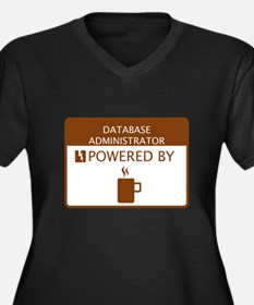 Database Administrator Powered by Coffee Women's P