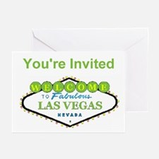 You're Invited Las Vegas Cards Pk of 10