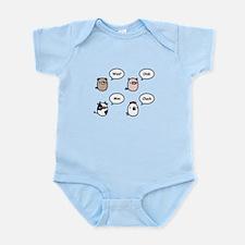 Animal Noises Infant Bodysuit