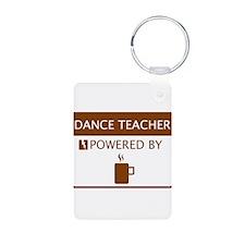 Dance Teacher Powered by Coffee Aluminum Photo Key