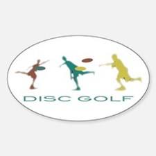 Disc Golf Triple Play Decal
