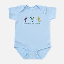 Disc Golf Triple Play Infant Bodysuit