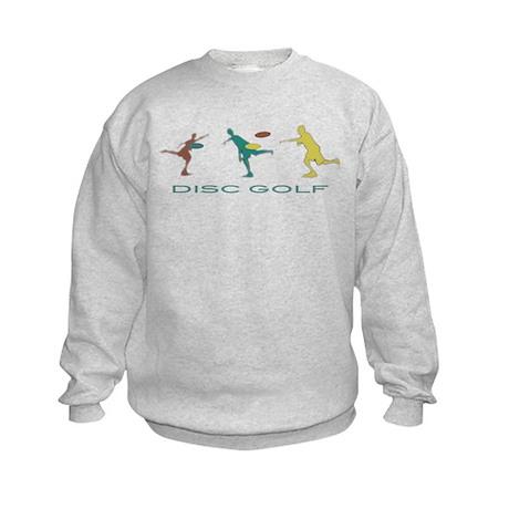 Disc Golf Triple Play Kids Sweatshirt