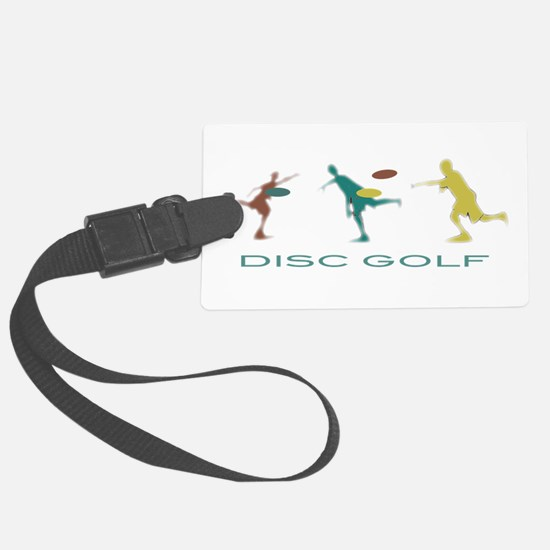 Disc Golf Triple Play Luggage Tag