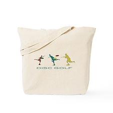 Disc Golf Triple Play Tote Bag