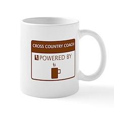 Cross Country Coach Powered by Coffee Mug