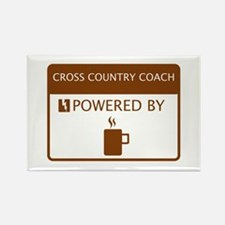 Cross Country Coach Powered by Coffee Rectangle Ma