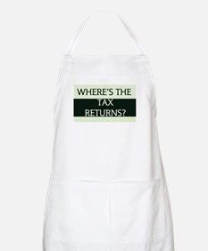 Where's the Tax Returns? (Large Version) Apron